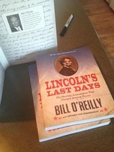 book design for bill o'reilly